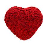 Rosen, Herz, rot