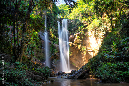 Morkfa waterfall close to Chiang Mai, Thailand - 245900176