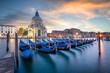 Kirche Santa Maria della Salute am Canal Grande, Venedig, Italien