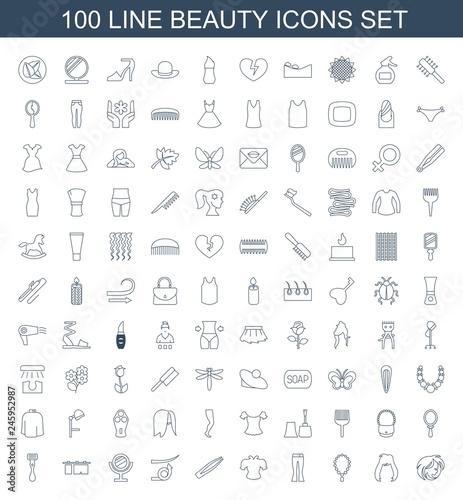 beauty icons - 245952987