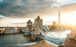 Tower Bridge in London, UK - 245956539