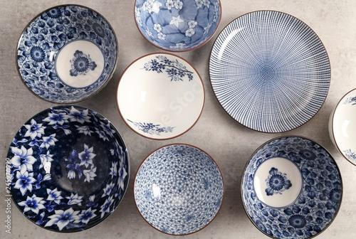 Japanese  Pottery - Bowls - Image . © Profotokris