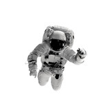 astronaut on the white backgrounds. - 245987335