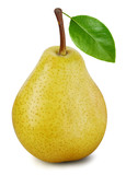 Pears isolated on white - 245996527