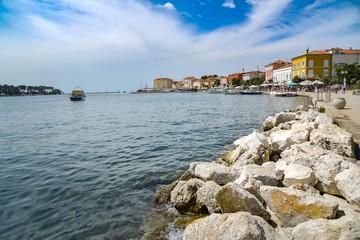 Stadt Porec auf der Halbinsel Istrien / Kroatien