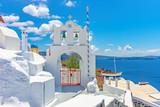 Architecture on the island of Santorini, Greece, Europe