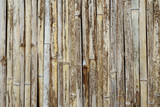 Old fence texture make from bamboo
