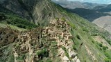 gamsutl - ancient abandoned town on the top of the mountain in dagestan - 246037987