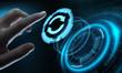 Leinwanddruck Bild - Update Software Computer Program Upgrade Business technology Internet Concept