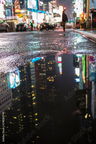 Foto Murales Activity in New York City streets