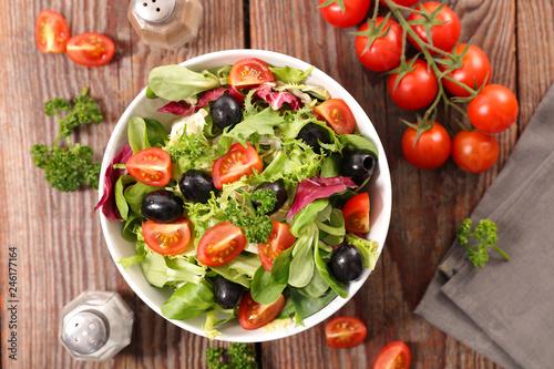 vegetable salad mixed