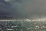orage sur le lagon de Tahiti