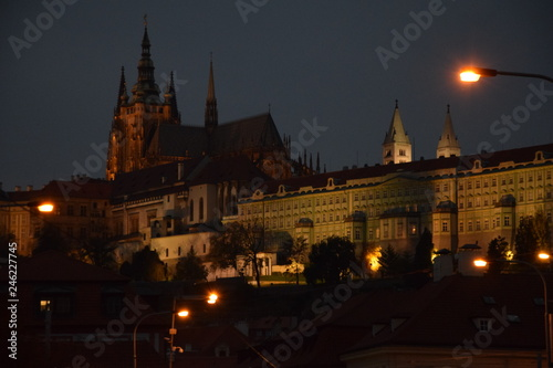 Cathedral in the night