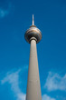 The Fernsehturm, Tv Tower / Television Tower in Berlin, Germany.