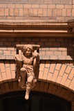 Europe,Germany,Köln,Cologne,Aachener Strasse ,Buildings  with statues, 2017