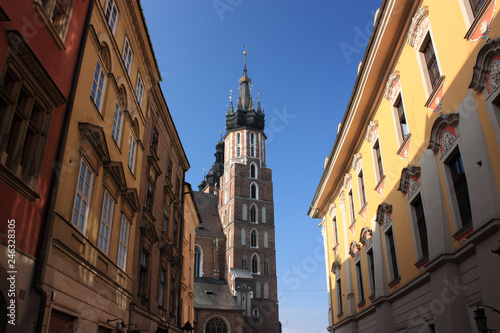 fototapeta na ścianę St. Mary's Basilica in Krakow, Poland