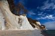 Leinwanddruck Bild - RUEGEN, Nationalspark Jasmund, Erosion, Kreidekueste im Fruehjahr, 08.04.2015, Deutschland, Mecklenburg-Vorpommern, Sassnitz
