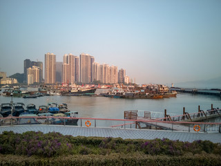 Shenzhen Quay in the early morning