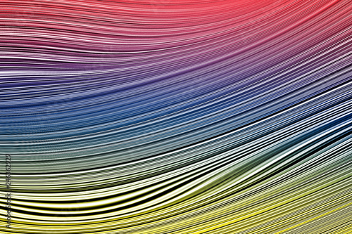 abstract striped background - 246362929