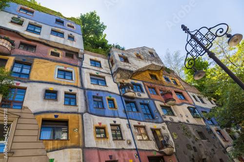 fototapeta na ścianę Hundertwasser's house in Vienna