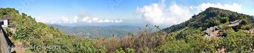 Northern Thailand panorama  - 246407921