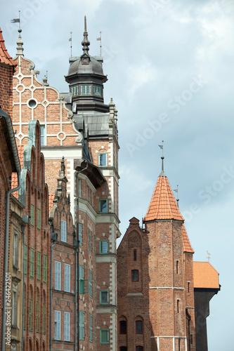 fototapeta na ścianę Gdansk Old Town Architecture