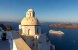 Oia. Traditional architecture of Santorini.