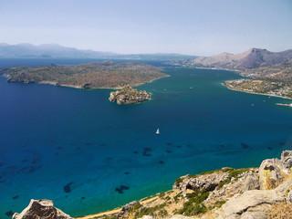 Island of Spinalonga, Bay of Elounda, Crete © Steve McHale