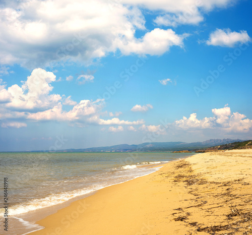 Sardegna, spiaggia di Scivu ad Arbus  - 246448998