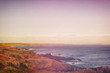 Quadro panoramic of the coast of melbourne