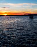 Sailboat Sunset - 246501329