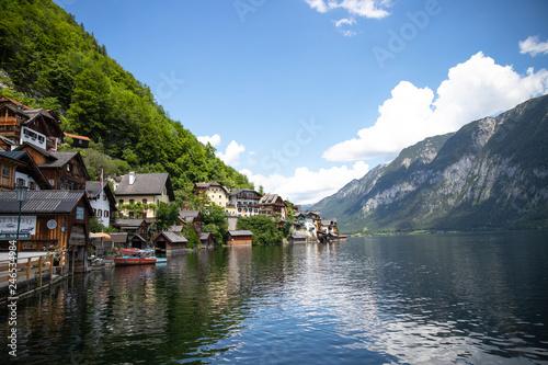 호수의아름다움
