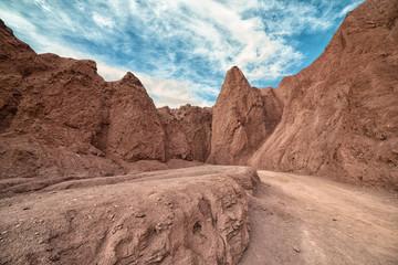 Enter Caves Rainbow Valley, Atacama Desert Chile © munez