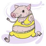 running pig.