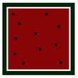 Wassermelone Eckig - 246604556