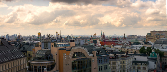 Moscow panorama of the city. © dimka0511
