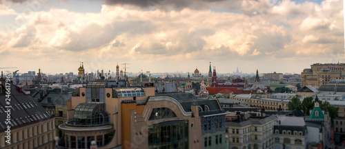 Moscow panorama of the city. - 246617967