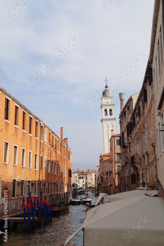 Venice canals, gondola ride