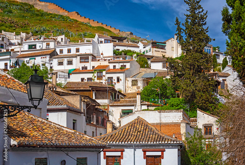 Houses in the old town of Granada, Spain | Buy Photos | AP Images