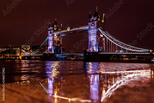Tower Bridge in night