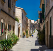 Historic street  at sunset - 246688560