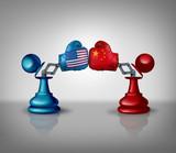 China USA Trade Fight - 246743311