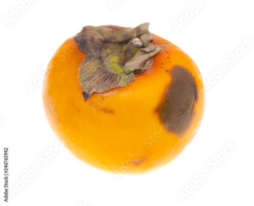 Persimmon isolated on white background - 246763942