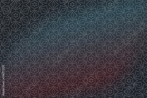Modern geometric seamless pattern. For design, page fill, wallpaper. - 246771320