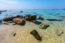"Постер, картина, фотообои ""Overview of the first trip to Kood Island (Koh Kood) Located in the eastern part of Thailand, it"