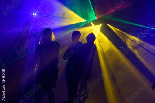 Foto Murales Discotheque, Lasershow, Dancing