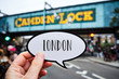 word London in a signboard at Candem Lock - 246818359