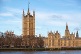 Parliament of United Kingdom, the meeting place of the House of Commons and the House of Lords., Westminster Palace. London, UK England.