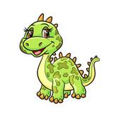 dinosaur cute cartoon