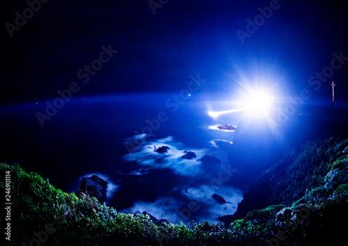 足摺岬の夜景
